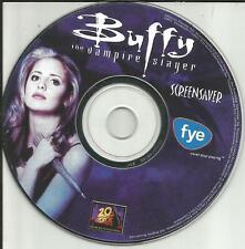 Sarah Michelle Gellar Buffy The Vampire Slayer Screensaver Bonus Promo Cd Rom