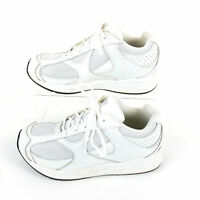 Drew Surge Walking Therapeutic Fitness Mens Athletic Shoes 7.5 Leather White