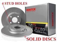 REAR Brake Discs Honda Civic / MG ZR & ZS / Rover 25 *MINTEX* Superior Quality