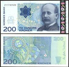 NORWAY 200 Kroner 2003 - UNC - Pick 50b