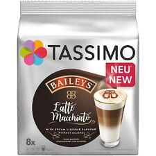 2 Packungen TASSIMO 4041505 Latte Macchiato Baileys Kaffeekapseln