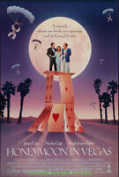 HONEYMOON IN VEGAS  MOVIE POSTER Original 27x40 Nicolas Cage & Flying ELVIS 'S