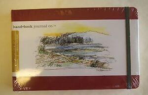 "Hand Book Journal 8.25"" x 5.5"" 128 pg LANDSCAPE GAM"