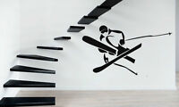 Wall Stickers Vinyl Decal Extreme Mountain Winter Sports Snowboard Decor ig018