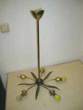 """VINTAGE - 50er Jahre Hängelampe """"Rockabilly Sputnik Spinnenlampe"""" Speicherfund"""