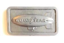 1974 Goodyear Blimp Pewter Belt Buckle by SMG accessories