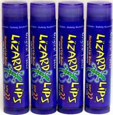 Lizard Lips SPF 22 Lip Balm - Original Vanilla 4 Pack (4)