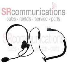 Headset Boom Mic Kenwood TK2360 TK3360 TK2312 TK3312 TK3230 TK2402 TK3402 TK2400