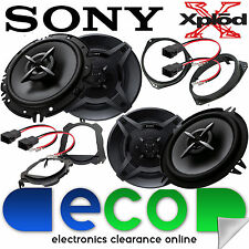 SONY Vauxhall Corsa C 2000 - 2006 Front Door & Rear Hatch Car Speaker Full Kit