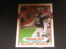 MICHAEL IRVIN COWBOYS ROOKIE LEGEND PACK PULLED AUTHENTIC FOOTBALL INSERT CARD