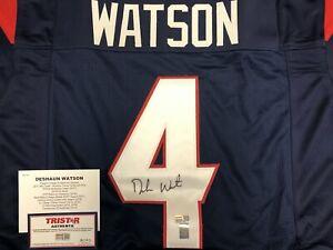 DESHAUN WATSON autograph auto signed Houston Texans jersey Tristar COA