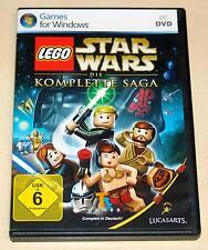 Lego Star Wars-la completa saga-PC juego-DVD funda
