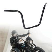 """16"""" Rise 1-1/4"""" Fat APE Hangers Handlebars Fit For Harley Sportster XL FLST FXST"""