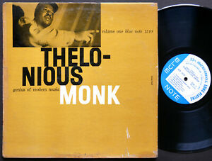 THELONIOUS MONK Genius Of Modern Music Vol.1 LP BLUE NOTE 1510 MONO Art Blakey