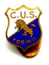 Distintivo C.U.S. Torino, cm 1,4 x 1,1