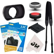8in1 Kit Shoulder Neck Strap + Eyecup + Screen Protector for Fujifilm X-T3 XT3