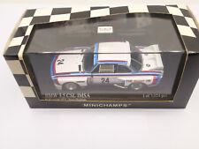 Minichamps 430752974 BMW 3.5 CSL Car#24 1975 Riverside 6 Hours 2nd Overall 1:43
