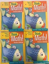 Harcourt Think Math! Grade 1 Chapters 12, 13, 14, & 15 Resource Collections