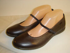 Barely Worn ~CAMPER~ Brown Leather  MARY JANE SHOES Women 9?N Euro 40 NARROW