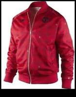 NIKE MANCHESTER UNITED 09 SE FZ JACKET NEW RED Men's XL Rare NWT