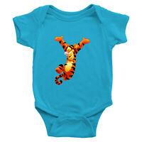 Tigger Disney Winnie the Pooh Tiger Infant Baby Boy Girl Rib Bodysuit Shirt 0-24