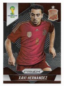Xavi Hernandez Spain 2014 Panini Prizm World Cup Soccer Card# 180