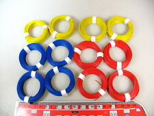 ( 0,117€/m ) 120 Filamento M Azul/amarillo/Rojo P. ej. para Märklin señal #q7x2