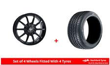 Alloy Wheels & Tyres 7.5x17 WR Pro-Lite Eco 2.0 Black + 2054017 Economy Tyres