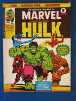 Marvel Comic - The Mighty World of Marvel - Incredible Hulk - Issue 160 - 1975