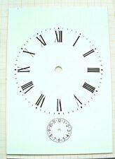 Cadran dial carriage clock pendule pendulette voyage officier zifferblatt Uhr 3