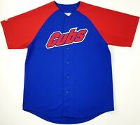 Vintage 90s Chicago Cubs MLB Sewn Stitched Majestic Baseball Jersey Size Large