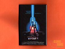 "Tron 2x3"" fridge/locker magnet movie poster arcade video game 1982 Jeff Bridges"