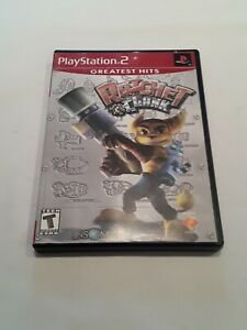SONY PlayStation 2 PS2 Ratchet & Clank (GREATEST HITS VERSION & COMPLETE)