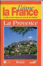 cassette VHS.    J'AIME LA FRANCE.    LA  PROVENCE.