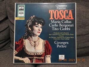 Giacomo Puccini: Tosca  2er LP-Box