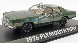 Greenlight 1/43 Scale Model Car 86566 - 1976 Plymouth Fury Beverly Hills Cop