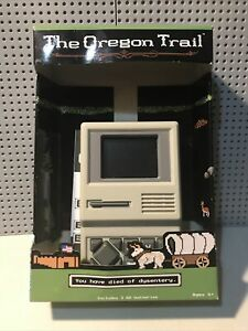 The Oregon Trail Handheld Game Classic Computer Game 2018