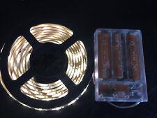 2m long, 120 WARM WHITE LED, AA Battery Powered Waterproof LED Light Strip