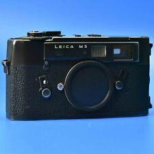 Leica M5 (black) - Body Only