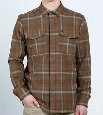 VOLCOM Men's BODHI L/S Flannel Shirt - DCH - Large - NWT