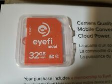 NEW Eye-Fi Mobi 32GB WiFi SDHC CARD EyeFi SD Card  Wi-Fi CLASS 10  (Mobi-32-FF)