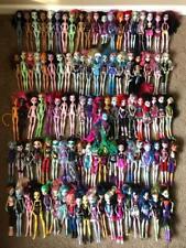 HUGE MONSTER HIGH Mattel Doll 100 Figure Lot Complete Shoes Clothes +More 1st?