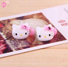 Hair Rope Fashion Hair Accessories Red Kids Cat Headwear Cartoon Hello Kitty
