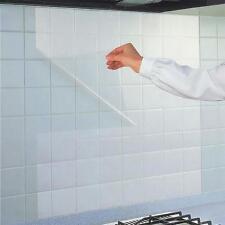 Kitchen Anti Oil Tile Wall Sticker Waterproof Paste Decal Transparent 70x45cm