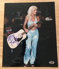 Miss KITTY Signed Autograph 8x10 Photo TNA WWF Diva WWE ECW With Hologram COA