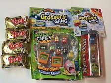 (1)The Grossery Gang season 2 MOLDY CHIPS 10 packs&(4)YUCK BARS& (1) ROTTEN SODA