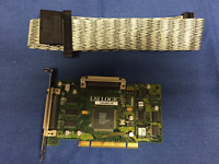 LSI Logic LSIU80LVD PCI SCSI Controller 348-0047004A with 1-Device SCSI Cable