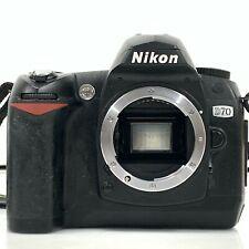 Nikon D70 Black Body Only Digital SLR Camera From Japan [KC]