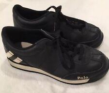 Kids Polo Shoes Size 13 - Black