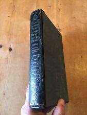 "1968 ""SHIRLEY"" CHARLOTTE BRONTE FICTION ILLUSTRATEDFOLIO SOCIETY BOOK & SLIPCASE"